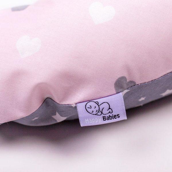 Възглавница за кърмене Happy Babies – двулицева